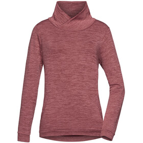 PYUA Bliss Sweater Damen mahogany red